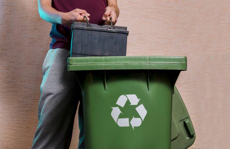 comment recycler une batterie de voiture