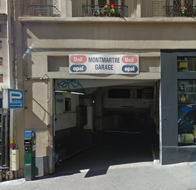 Photo Montmartre Garage